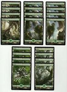 20x FOREST Full Art Basic Land NM/LP MTG Magic the Gathering Battle For Zendikar