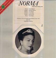 Bellini NORMA Milanov Thebom Penno Siepi Leone Franke - BOX 3 LP Melodram SEALED