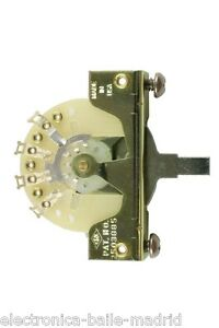 CRL-5-WAY-PICKUP-SELECTOR-SWITCH-FOR-FENDER-STRATOCASTER-TELECASTER-THE-BEST