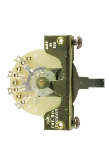 CRL 3-WAY PICKUP SELECTOR SWITCH FOR FENDER STRATOCASTER TELECASTER - THE BEST!
