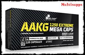 e807b79e8c5 Image is loading Olimp-AAKG-Extreme-1250mg-Mega-Caps-Arginine-Nitric-