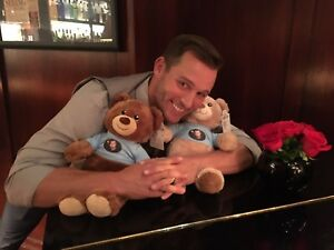 DAYS OF OUR LIVES: ERIC MARTSOLF (BRADY BLACK) TEDDY BEAR