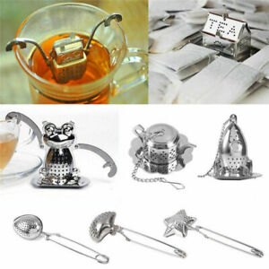 Tea-Ball-Strainer-Infuser-Stainless-Steel-Filter-Squeezer-Herb-Leaf-Spice-Star