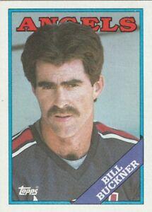 FREE-SHIPPING-MINT-1988-ANGELS-Topps-147-Bill-Buckner-PLUS-BONUS-CARDS
