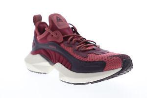銳步鞋底 Fury 00 dv9257 女式紅色網格系帶運動跑步鞋