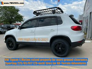 Lift Kit for VW Tiguan 2007-2018 - Two-Inch Off Road Coils Spacers Rear Shocks