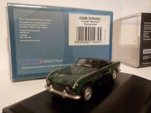 Triumph-TR4-British-Racing-Green-Model-Cars-Oxford-Diecast