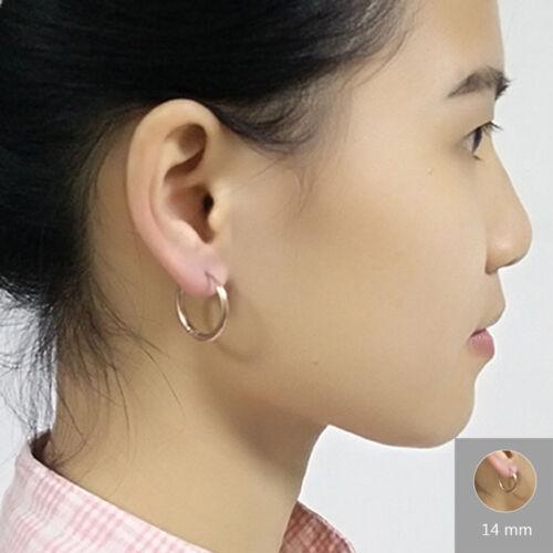 2pc Femmes Hommes Simple en acier de Petits Clous Boucle d/'Oreille Tragus Cartilage Boucles D/'oreilles Pour Cadeau