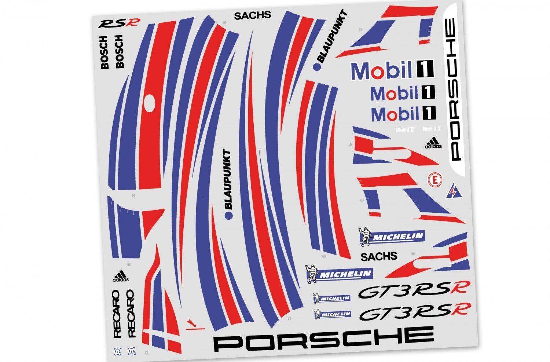 FG Team-Dekor arco Porsche gt3 rsr, 1 St. - 5175-Team Decals