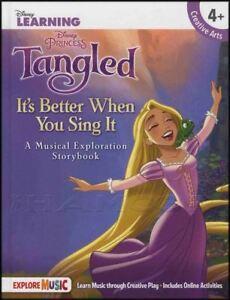 CompéTent Disney Learning Entremêlé Il Vaut Mieux Quand Vous Chantez Musical Exploration Storybook-afficher Le Titre D'origine Faire Sentir à La Facilité Et éNergique