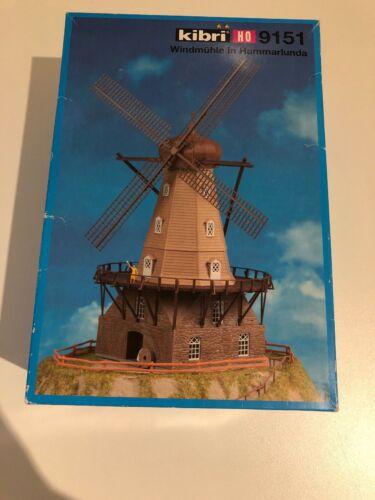 Piste h0 KIBRI 9151 Kit Moulin à vent dans hammarlunda Nouveau neuf dans sa boîte