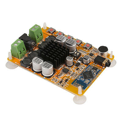 TDA7492 2x50W Bluetooth 4.0 Audio Receiver Amplifier AMP Board MIC AUX