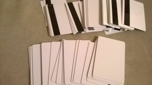 Epson R330 Computer Printer PVC Blank ID with Magnetic Strip Cards Bundle Lot