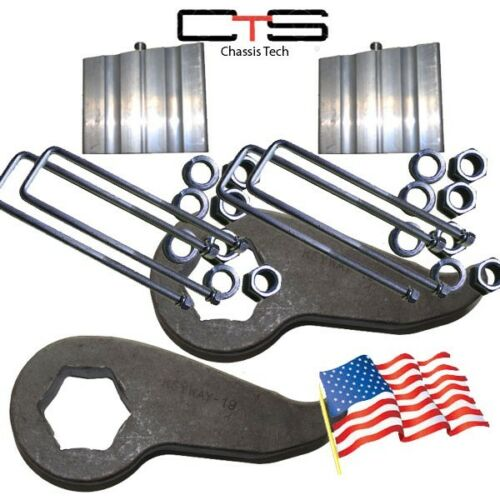 "Lift Kit Chevy Front Torsion Keys3// 3/"" Rear Blocks/""C/"" 2000-2010 Truck 8 Lug K02"