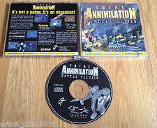 Aniquilación total tácticas de batalla pack de expansión para PC Raro Joya Entubado versión