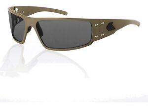 New-Gatorz-Cerakote-Magnum-Military-Tan-Smoked-Lenses-Non-polarized-MAGCTN01
