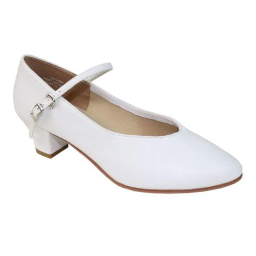 """Danzcue Womens 1.5/"""" Heel Character Dance Shoes"""