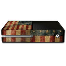 Skin Decal Wrap for Microsoft Xbox One Console sticker Vintage Flag
