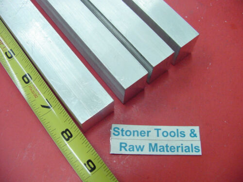 "4 Pieces 3//4/"" X 1/"" ALUMINUM 6061 FLAT BAR 8/"" long .750 Solid New Mill Stock"