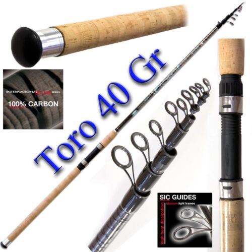 Canna da pesca Toro 40gr canna da pesca tremarella trota fiume lago PB02158