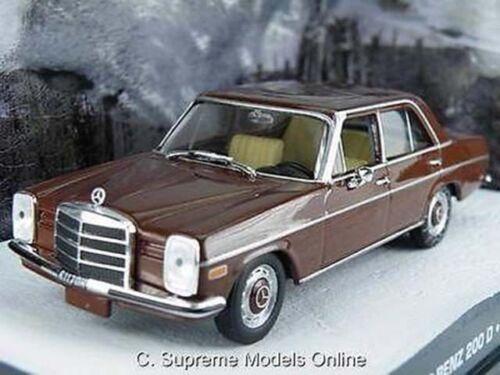 ^ MERCEDES Benz 200D 1//43RD Taglia Saloon CAR MODEL Tan Interior tipo BXD Y0675J ^
