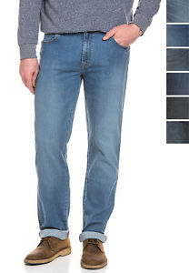 Wrangler-Stretch-Jeans-Herren-Hose-Denim-Texas-Straight-Fit