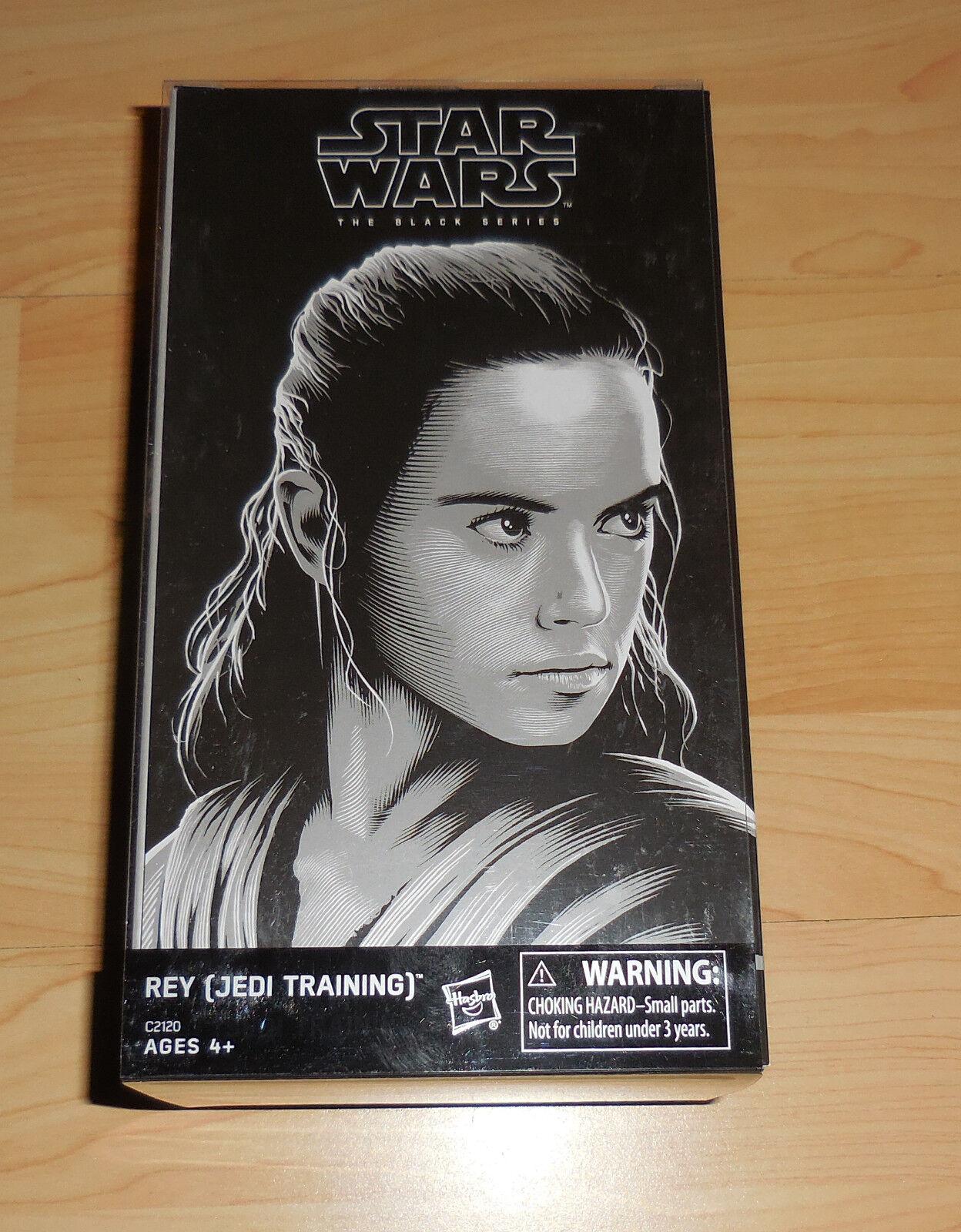 SDCC 2017 HASBRO STAR WARS LUKE SKYWALKER Master and REY Jedi Training MisB