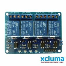 XCLUMA 4 CHANNEL 5V RELAY BOARD MODULE RELAY EXPANSION BOARD ARDUINO RASP BE0035