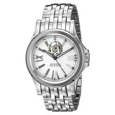 Bulova 63A102 Men's Silver Semi-Skeleton Dial Automatic Watch