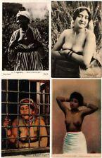ALGERIA ALGERIE ETHNIC NUDES AFRICA 39 Vintage Postcards pre-1940