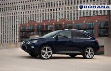 20x9 +35 Rohana RC22 5x114.3 Silver Wheel Fit Lexus Rx350 5x4.5 F Sport 2015 Rim