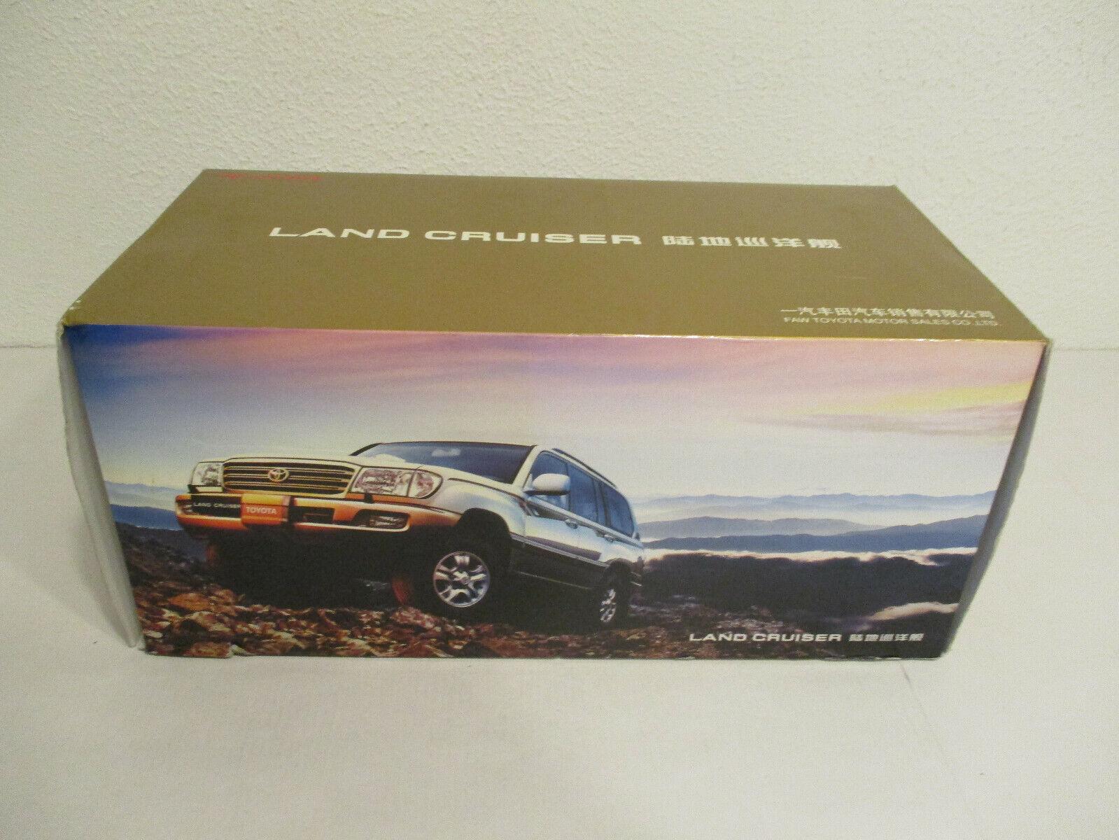 ( Gokr ) 1 18 Faw Toyota Land Cruiser Nuovo Conf. Orig.