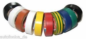 10-x-Tesa-PVC-4252-Coche-Multicolor-15mm-10m-5000v-ISO-BANDA-CINTA-ADHESIVA-W