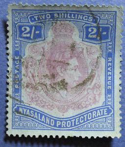 1938 NYASALAND 2S SCOTT# 63 S.G.# 139 USED CS08913