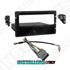 99-3301 ISO-Din Car Stereo Mount w/ Wires Radio Install Dash Kit for Chevrolet