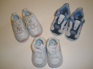 a285447545 Infant Baby Girls Size 2C 3C 4C 2 3 4 Medium Nike Leather Athletic ...