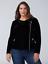 Lane-Bryant-Velvet-Moto-Jacket-Womens-Plus-18-20-Black-Spring-Fall-2x thumbnail 4