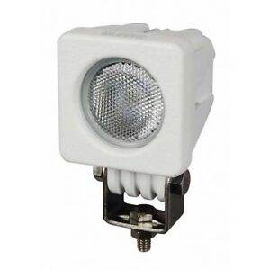 Details About Durite Led Work Lamp White Compact Flood Light Marine 12v 24v 10w 0 420 52