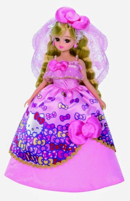 Hello Kitty Love Daisy Wedding Dress Licca-chan Doll LD-13 Takara Tomy NEW