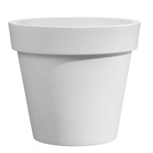 """Vaso rotondo in resina /""""Easy/"""" 45 cm."""