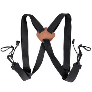 Newly-Deluxe-Shoulder-Harness-Strap-Belt-On-Binoculars-Adjustable-For-Camera-Use