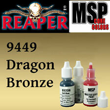 DRAGON BRONZE 9449 - MSP 15ml 1/2oz paint pot peinture figurine REAPER MINIATURE