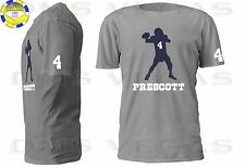a76e418b1 ... 5X Dallas Cowboys Dak Prescott Jersey Tee T Shirt Men Size S-5XL Shadow  nfl ...
