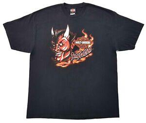 Harley-Davidson-Temptation-Devil-Tee-Black-Size-XL-Mens-T-Shirt-Miami-Florida