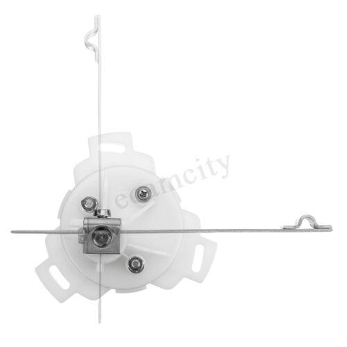 KUS 12v//24v Marine Boot Edelstahl Ruder Manometer Anzeige Winkelsensor DE