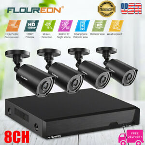 8CH-DVR-Security-System-1080N-DVR-Recorder-1080P-CCTV-Camera-940nm-Invisible-IR