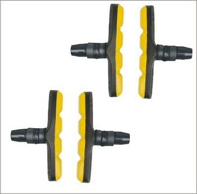 V Brake Bremsschuhe Fahrradbremse 70 mm 4 Set MTB V - Bremse Fahrrad