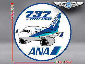 ANA-ALL-NIPPON-AIRWAYS-PUDGY-BOEING-737-B737-ROUND-DECAL-STICKER
