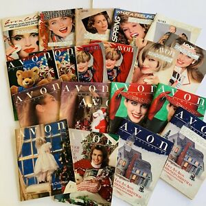 1989-Vintage-Avon-Catalog-Campaign-Books-Lot-of-20