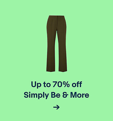 Up to 70% off Simply Be & More